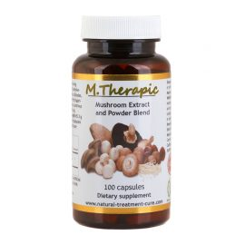 Mushroom extract and powder blend
