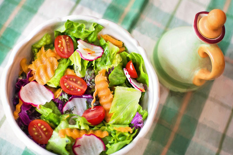 healthy diet to treat acne