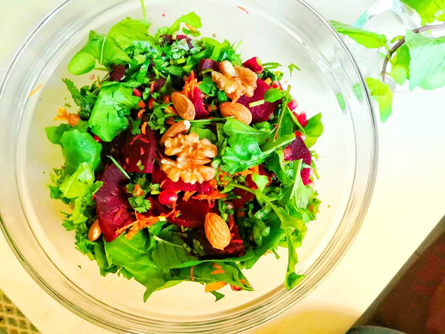 Beet and Watercress Salad for Cancer Patients