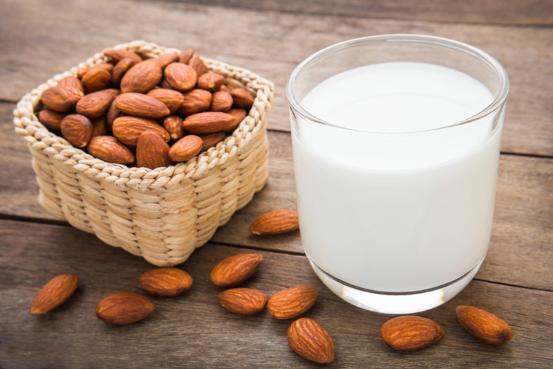 Almond Milk with Vanilla for Cancer Patients