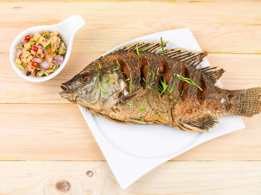 Savory Grilled Tilapia for People with Diabetes