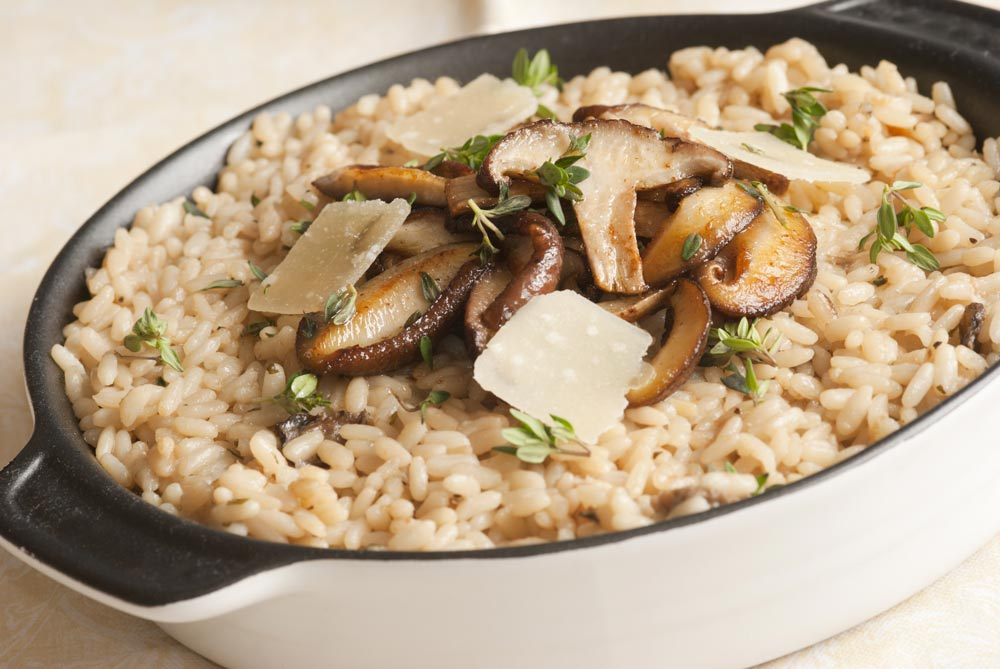 Brown Rice with Mushroom for Kidney Failure