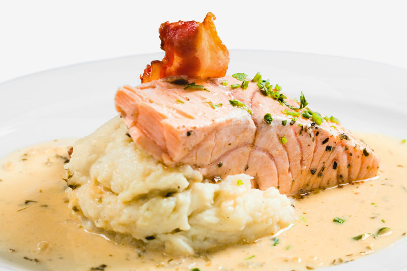 Salmon with Puree for Children with ADHD