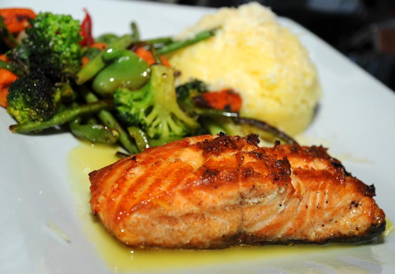 Overcome Depression with this Salmon with Puree Recipe