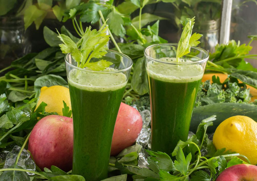 Lettuce Apple Juice for Immunity-Boosting