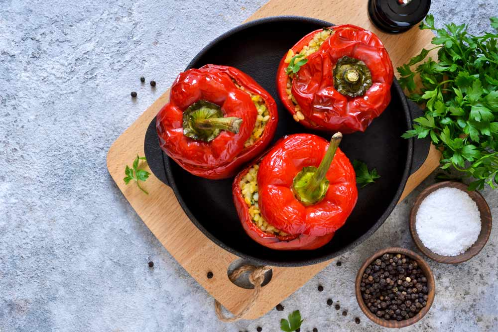 Stuffed Bell Pepper for Viral Infections