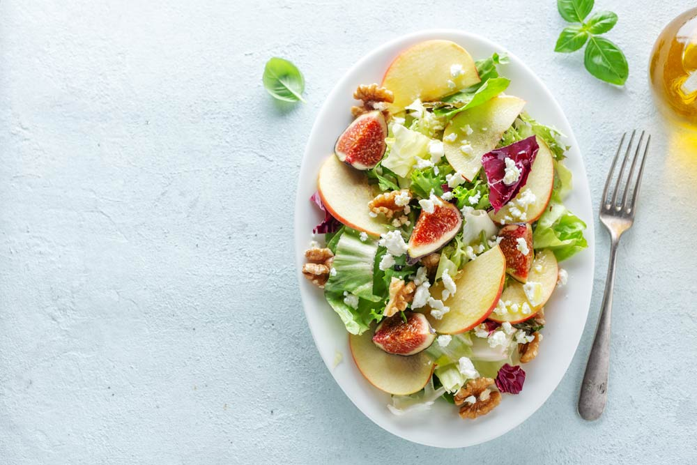 Antiviral Fig Apple Salad: A Salad to Fight Herpes